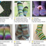 Friday Faves: Self-Striping Sock Patterns