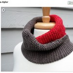 Cowl, finally – and the giveaway winner