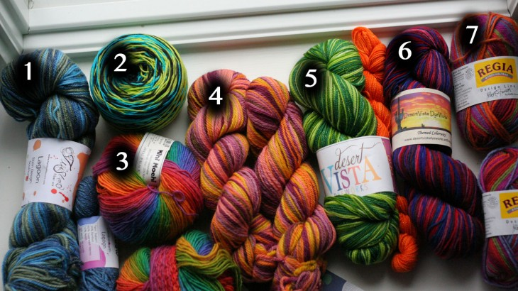 mystery kal sock yarn