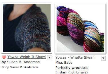 yowza weigh it shawl