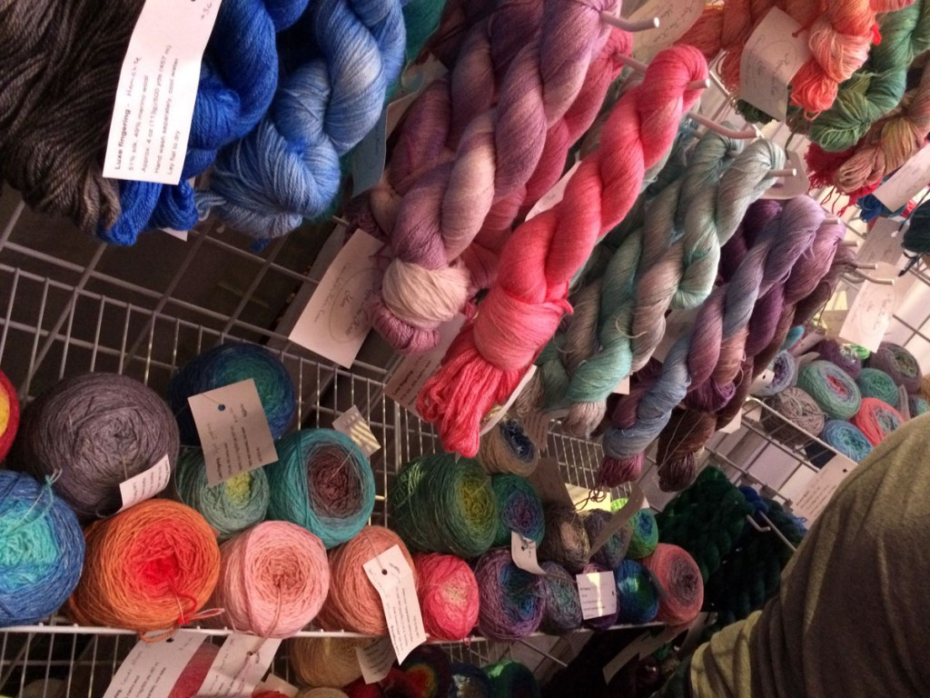 apple tree knits booth