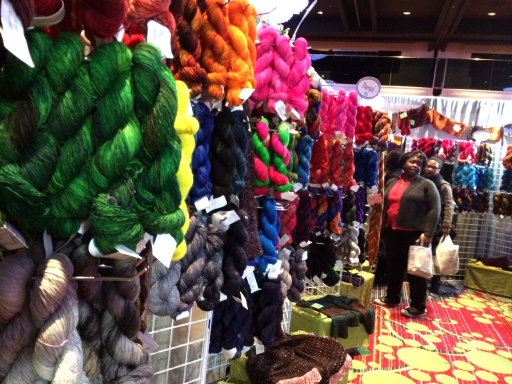 dragonfly fibers booth