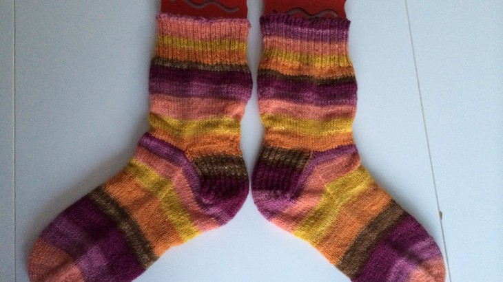 handspun socks done